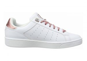 K-Swiss Clean Court CMF Bianco (White/Old Rose 121)