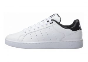 K-Swiss Clean Court CMF Bianco (White/Black Hologram)