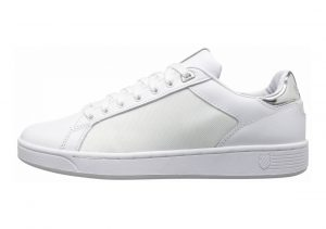 K-Swiss Clean Court CMF Weiß (White/Silver 133)