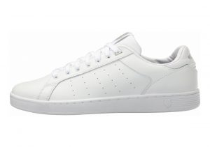 K-Swiss Clean Court CMF Bianco (White/Gull Gray 131)