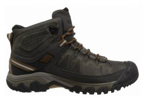 Keen Targhee III Waterproof Mid Black Olive/Golden Brown