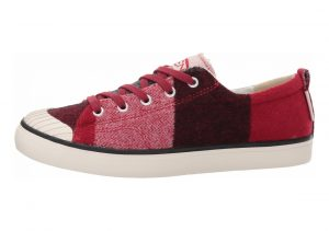 Keen Elsa Fleece Sneaker Red Dahlia Wool