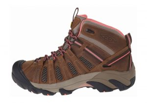 Keen Voyageur Mid Cascade Brown/Fusion Coral