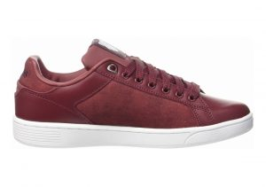 K-Swiss Clean Court CMF OXBLOOD WHITE