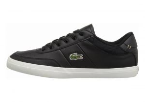 Lacoste Court-Master Black/Off White Leather