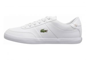 Lacoste Court-Master White/Nvy Leather