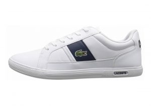 Lacoste Europa White/Dark Blue