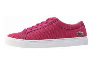 Lacoste L.12.12 Textile Trainers Pink