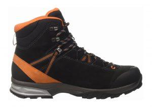 Lowa Arco GTX Mid Black (Schwarz/orange)