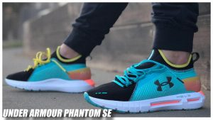 Under Armour HOVR Phantom SE Breathtaking Blue/White /Black