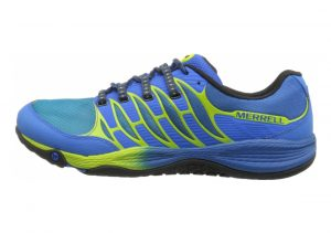 Merrell All Out Fuse Blue/Lime