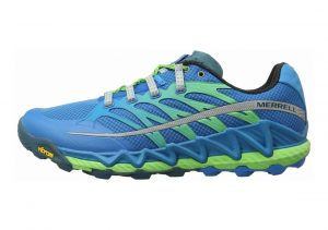 Merrell All Out Peak Racer Blue/Bright Green