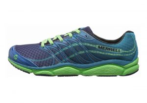 Merrell All Out Flash Racer Blue/Bright Green
