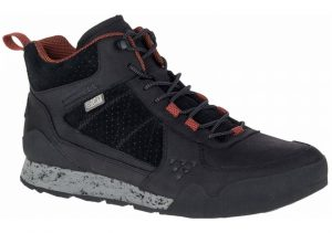 Merrell Burnt Rock Mid Waterproof Black (Black)