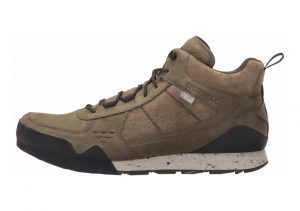 Merrell Burnt Rock Mid Waterproof Brown