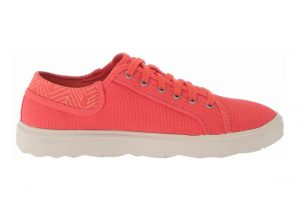 Merrell Around Town City Lace Canvas  Hot Coral