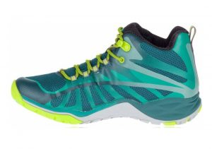Merrell Siren Edge Q2 Mid Waterproof Green (Jungle Jungle)