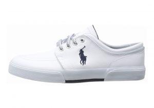 Polo Ralph Lauren Faxon Low Leather White