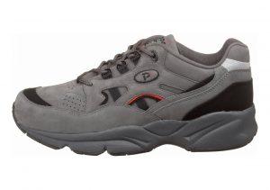 Propet Stability Walker Grey/Black Nubuck