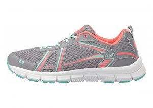 Ryka Hailee Frost Grey/eggshell Blue/electric Coral