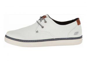 Skechers Relaxed Fit: Palen - Gadon White Canvas