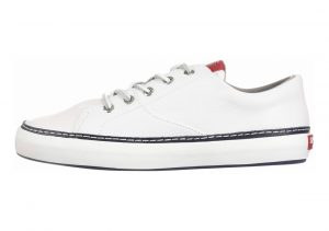 Sperry Gold Cup Haven Nautical White/Navy/Red