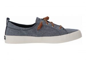 Sperry Crest Vibe Crepe Chambray  Blauw