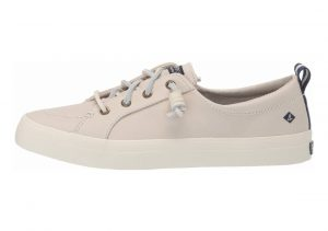 Sperry Crest Vibe Washable Leather Ivory