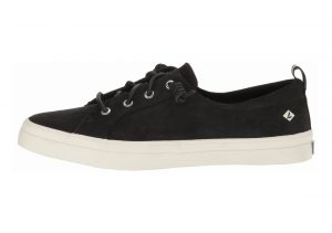 Sperry Crest Vibe Washable Leather Black