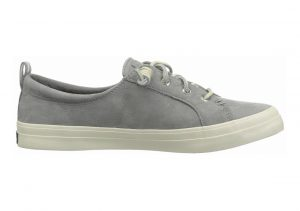 Sperry Crest Vibe Washable Leather Grey