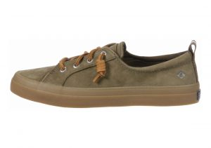 Sperry Crest Vibe Washable Leather Olive