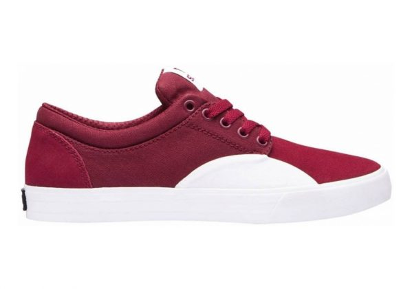 Supra Chino Dark Ruby-white