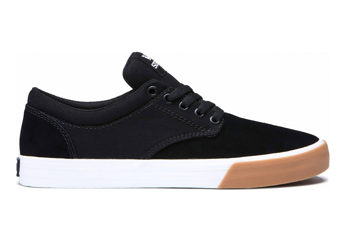 Supra Chino Black-white/Gum