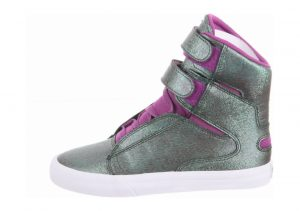 Supra Society II Green - Grün (Purple/Green - White Jkw)