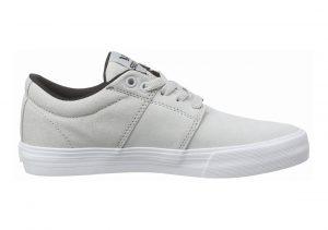 Supra Stacks Vulc II Grey (Light Grey - White Lgy)