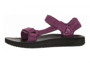 Teva Original Universal Premier Leather Dark Purple
