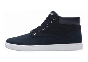 Timberland Groveton Plain-Toe Chukka Shoes Blue Washed Denim