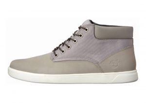 Timberland Groveton Plain-Toe Chukka Shoes Grey/Canvas