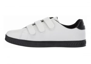 Tretorn Carry2 White Leather Black Sole