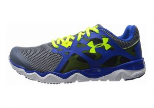 Under Armour Micro G Monza GRAVEL/High-Vis Yellow/SCATTER