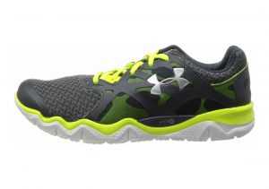 Under Armour Micro G Monza Lead/High Vis Yellow/Metallic Silver