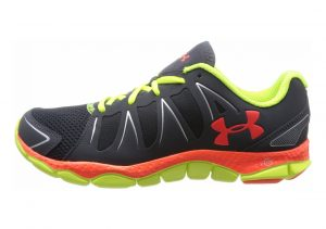 Under Armour Micro G Engage II Gris (Lead/High-vis Yellow/Bolt Orange 030)