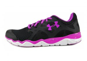 Under Armour Micro G Monza Black White Purple