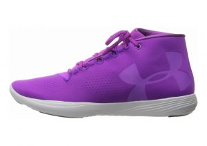 Under Armour Precision Mid Purple rave