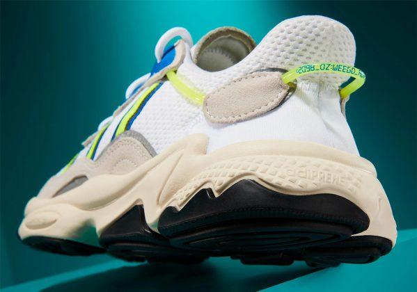 Adidas Ozweego White Neon Blue