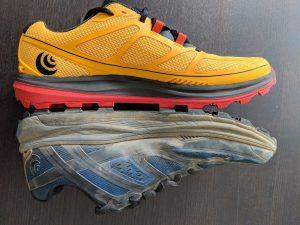 Topo Athletic Terraventure 2 Yellow Black