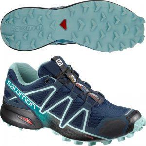 Salomon Speedcross 4 Black Turquoise