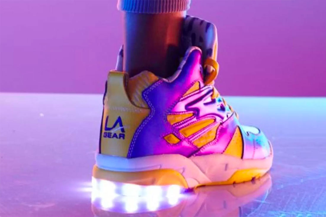 LA Gear Led Light Up Sneaker