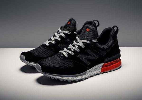 New Balance 574 Sport Black White