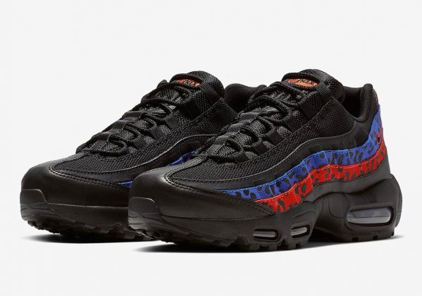 Nike Air Max 95 Leopard Print Blue Red